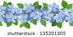 horizontal seamless background... | Shutterstock .eps vector #135201305
