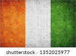 flag of ivory coast  ... | Shutterstock .eps vector #1352025977