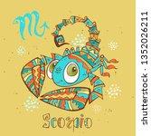 children's horoscope icon....   Shutterstock .eps vector #1352026211