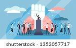 populism vector illustration....   Shutterstock .eps vector #1352057717