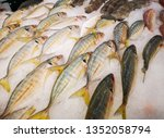 chilled fish for sale | Shutterstock . vector #1352058794