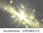 light sources  concert lighting ... | Shutterstock .eps vector #1352081171