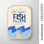 fish fillets aluminium... | Shutterstock .eps vector #1352119271