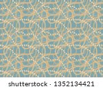 seamless pattern background... | Shutterstock . vector #1352134421