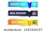 sale banner template design ... | Shutterstock .eps vector #1352326157