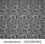 abstract geometric pattern with ... | Shutterstock . vector #1352404391