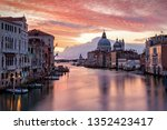 view to the canale grande in... | Shutterstock . vector #1352423417