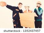 builder  engineer  architect... | Shutterstock . vector #1352437457
