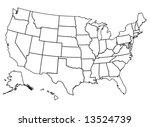 united states of america | Shutterstock .eps vector #13524739