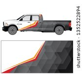 Car Wrap Vector Stock With A...