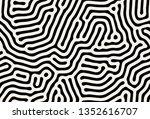 vector seamless pattern. modern ... | Shutterstock .eps vector #1352616707