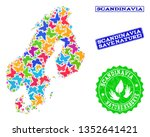 ecological composition of... | Shutterstock .eps vector #1352641421