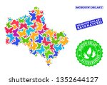 ecological composition of...   Shutterstock .eps vector #1352644127