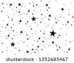 stars on a white background....   Shutterstock .eps vector #1352685467