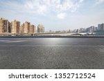 panoramic skyline and modern... | Shutterstock . vector #1352712524