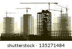 horizontal vector illustration... | Shutterstock .eps vector #135271484