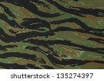 us vietnam green tigerstripe...   Shutterstock . vector #135274397
