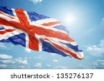 An Image Of The Union Jack In...