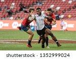 singapore april 28 fiji 7s team ...   Shutterstock . vector #1352999024
