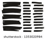 tagging marker medium lines  ... | Shutterstock .eps vector #1353020984
