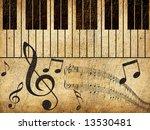 vintage music background | Shutterstock . vector #13530481
