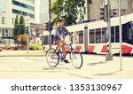 people  style  leisure and... | Shutterstock . vector #1353130967