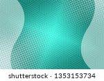beautiful mint abstract... | Shutterstock . vector #1353153734