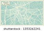 perpignan france city map in... | Shutterstock .eps vector #1353262241