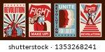 revolution 4 promoting... | Shutterstock .eps vector #1353268241