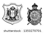 Coat Of Arms Or The French...