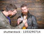 guy mafia dealer with cash...   Shutterstock . vector #1353290714