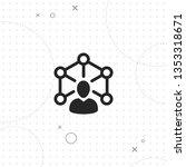 teamwork  networking people ... | Shutterstock .eps vector #1353318671