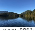 Clear Blue Sky In Sasamat Lake...