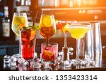 selection of best selling... | Shutterstock . vector #1353423314
