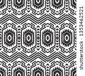 navajo seamless pattern. tribal ... | Shutterstock .eps vector #1353462521