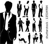 fashion men vector | Shutterstock .eps vector #13534984