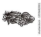 nature pattern of leaves....   Shutterstock .eps vector #1353682001