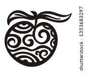 apple. vector illustration   Shutterstock .eps vector #1353683297