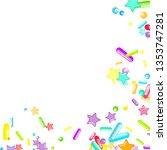 sprinkles grainy. cupcake... | Shutterstock .eps vector #1353747281