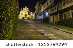 beautiful scenic alley with...   Shutterstock . vector #1353764294