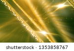 abstract bright gold motion... | Shutterstock . vector #1353858767
