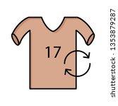 replace   player   shirt   | Shutterstock .eps vector #1353879287