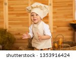 photo project little baker. a... | Shutterstock . vector #1353916424