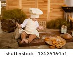 photo project little baker. a... | Shutterstock . vector #1353916451