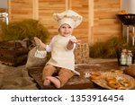 photo project little baker. a... | Shutterstock . vector #1353916454