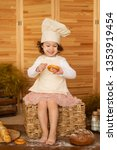 photo project little baker.... | Shutterstock . vector #1353919454