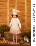 photo project little baker.... | Shutterstock . vector #1353919481