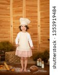 photo project little baker.... | Shutterstock . vector #1353919484