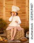 photo project little baker.... | Shutterstock . vector #1353919487