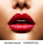 Sexy Lips. Beauty Red Lips...